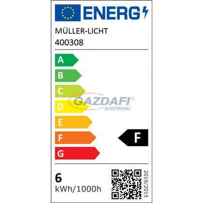 MÜLLER LICHT 400308 R7s LED fényforrás, 5.5W, 550Lm, 2700K, 78mm