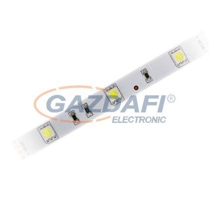 COMMEL 405-155 LED szalag, beltéri, 5m, 3000K 12V + LED tápegység 3A