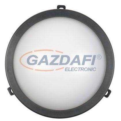 COMMEL 407-502 LED kerek hajólámpa, 12W, 780Lm, 4000K, IP54, fekete