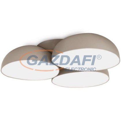 PHILIPS Stonez 408298716 LED mennyezeti lámpa, 12x2.5W SELV 2200Lm, szürke