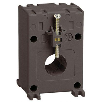 LEGRAND 412103 Egyfázisú áramváltó 100/5A, (Ø21 mm) kábelhez vagy (16x12,5 mm) gyűjtősínhez