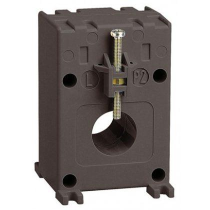 LEGRAND 412107 Egyfázisú áramváltó 250/5A, (Ø21 mm) kábelhez vagy (16x12,5 mm) gyűjtősínhez