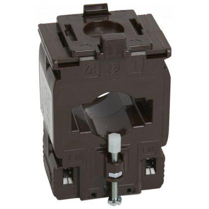 LEGRAND 412117 Egyfázisú áramváltó 400/5A, (Ø26 mm) kábelhez vagy (40,5x12,5 vagy 32,5x15,5 mm) gyűjtősínhez