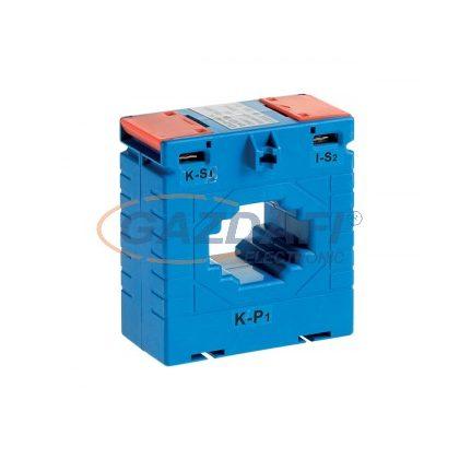 ELMARK sínre húzható áramváltó, MES-75/40, 0.5 osztályú, 300/5A, 10VA