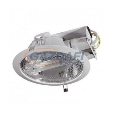 """KANLUX """"Ralf"""" kompakt fénycsöves fényvető, E27, 2x20W, IP20, fehér"""