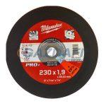 MILWAUKEE 4932451490 Vágókorong fémhez 230x1,9 mm egyenes