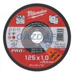 MILWAUKEE 4932451492 Vágókorong fémhez 125x3 mm egyenes