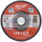 MILWAUKEE 4932451502 Csiszolókorong (tisztítókorong) fémhez 125x6 hajlított