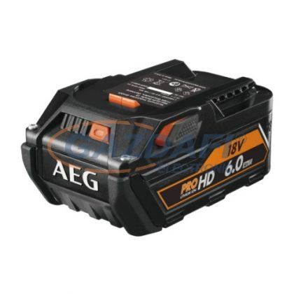 AEG Akkumulátor 18V PRO Li-ion 6Ah (L1860RHD)