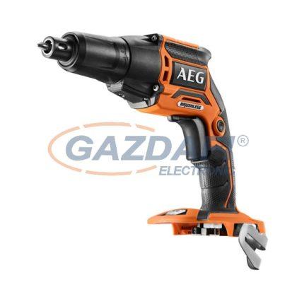 AEG 4935459620 BTS18BL-0 Brushless akkus szénkefe nélküli gipszkarton csavarozó