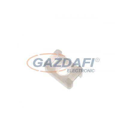 ELMARK kábelkötegelő tartó, CTH-2C, 22x9mm, fehér, 100db/csomag