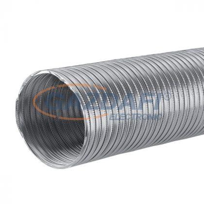 ELMARK alumínium csatorna klímához/ventilátorokhoz, Ø120mm/1.5m