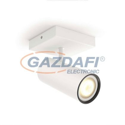 PHILIPS Buratto Hue 50461/31/P8 1L bővítő intelligens vezérelhető LED lámpatest, 5.5W 250Lm 2200-6500K, fehér