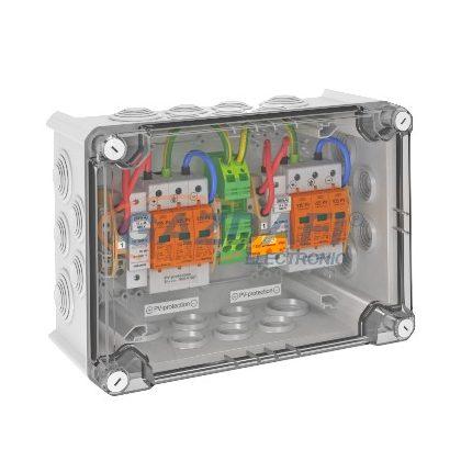 OBO 5088581 VG-BCPV 900KS 11 Pv-Rendszer Tokozatban 2MPP 1 String-gel + biztosíték, 900V