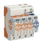 OBO 5095273 V20-3+NPE-385 Surgecontroller V20 3+1 kivitel, 385V IP20