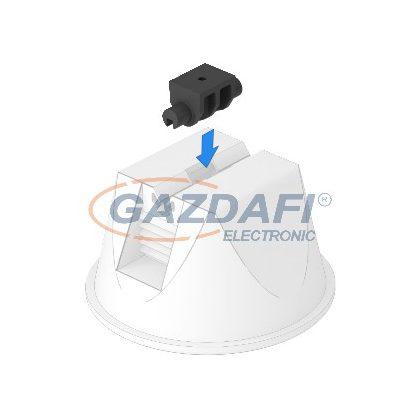 OBO 5218882 165 MBG UH Adapter Tetővezeték-Tartóhoz univerzális ø4mm fekete polipropilén