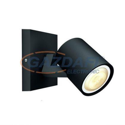 PHILIPS Runner Hue 53090/30/P8 1L bővítő intelligens vezérelhető LED lámpatest, 5.5W 250Lm 2200-6500K, fekete