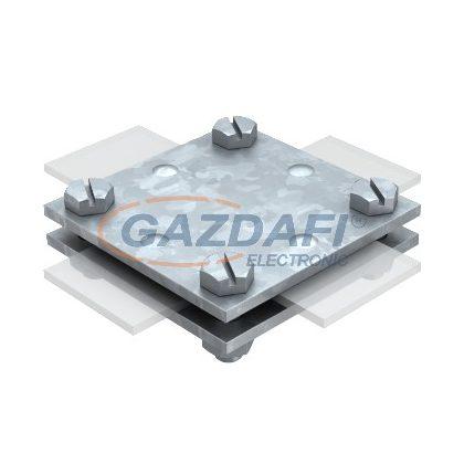OBO 5314658 256 A-DIN 30 FT Keresztösszekötő betétlemez nélkül 30mm merítetten tűzihorganyzott acél