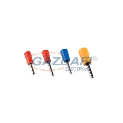 ELMARK szigetelt, ónozott réz csapossaru, PTV 1.25-10, 0.25-1.0mm2, piros, 100db/csomag