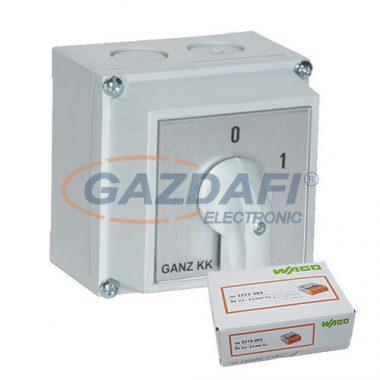 GANZ KKM0-20-6002 + 2273-203 AKCIÓS csomag