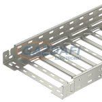 OBO 6059490 SKSM 610 VA4301 Sksm Kábeltálca gyorsösszekötővel, perforált 60x100x3050mm rozsdamentes acél