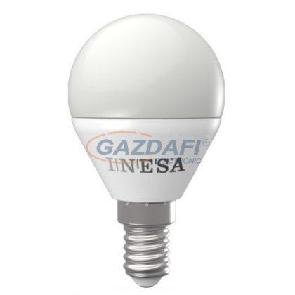 INESA LED gömb fényforrás E14 4W 3000K