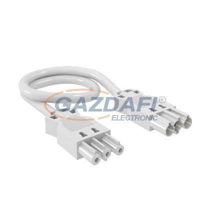 OBO 6108125 VL-3Q1.5 1 W Hosszabbító Vezeték 3x1,5 mm2 keresztmetszet L=1000mm fehér