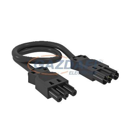 OBO 6108158 VL-3Q2.5 9 SW Hosszabbító Vezeték 3x2,5 mm2 keresztmetszet L=9000mm fekete