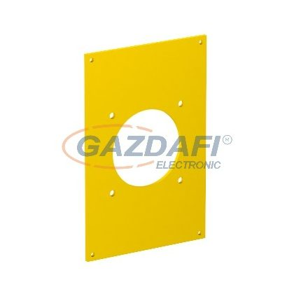 OBO 6109865 VHF-P3 Fedlap 1x CEE 160x105mm sárga PVC