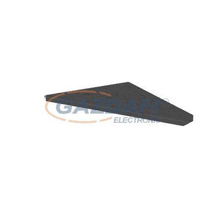 OBO 6290170 ISSGU70110 Gumialátét 70x110x4mm fekete gumi