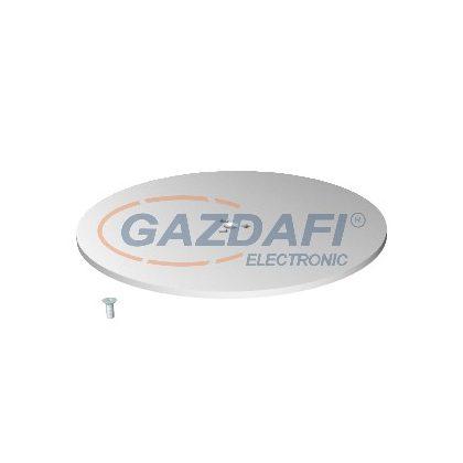 OBO 6290196 SFISSFRW Szerelőtalp F installációs oszlopokhoz D350x8mm hófehér acél