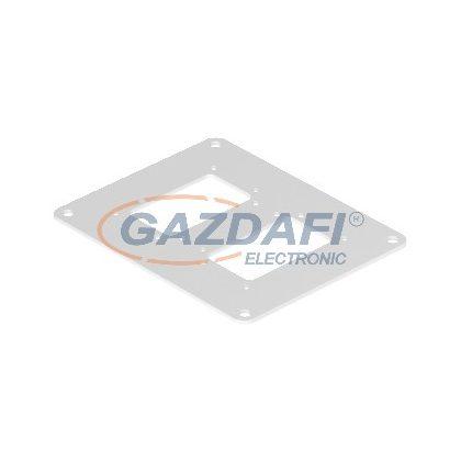 OBO 6290336 ISSBP140100RW Fenéklemez 200x160x3mm hófehér acél