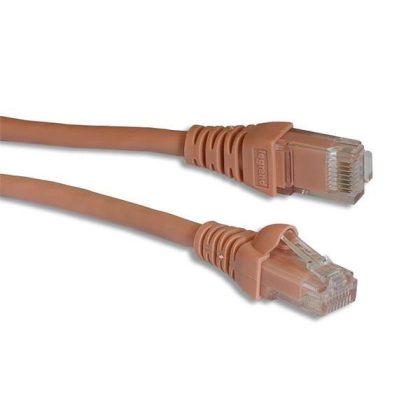 LEGRAND 632730 patch kábel RJ45-RJ45 Cat5e árnyékolatlan (U/UTP) PVC 1 méter világos rózsaszín d: 5.4mm AWG24 Linkeo