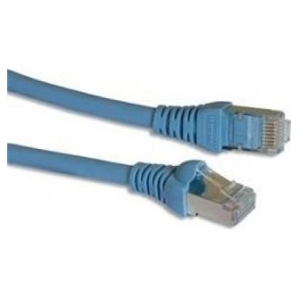 LEGRAND 632750 patch kábel RJ45-RJ45 Cat6 árnyékolatlan (U/UTP) PVC 1 méter világos kék d: 6mm AWG24 Linkeo