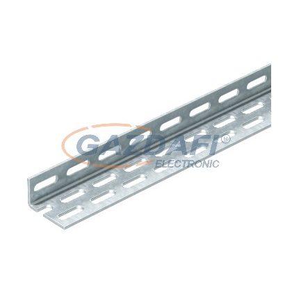 OBO 6373062 WP 40 65 5000 VA Szögvas perforált 40x65x5000mm rozsdamentes acél
