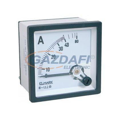 ELMARK Árammérő táblaműszer, AC, 0-1000A, po.: 1,5