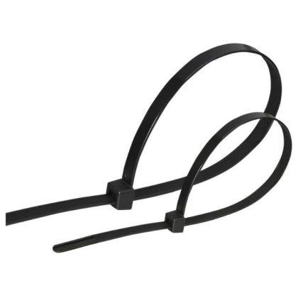 GAO 6546H Kábelkötegelő, 300x4, 8mm, fekete, 100db