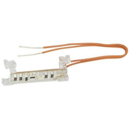 LEGRAND 665091 Vezetékes LED lámpa ellenőrzőfényes funkciókhoz (Niloé/Céliane/Program Mosaic/Valena Life/Valena Allure)