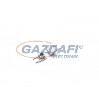 """S&G végzáró szett """"Micro 10"""" LED profilhoz, 2db/csomag, ezüst 6855 0022"""
