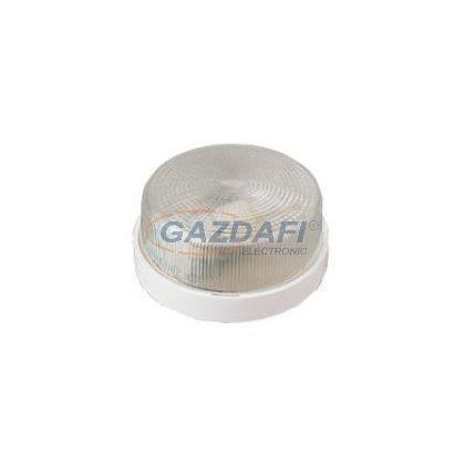 GAO 6949H Vario mini lámpatest, E27, 60W, fehér/kristály, 230V, d=190mm, h=100mm, IP44