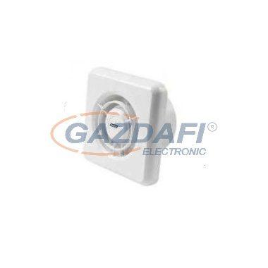 KANLUX ventilátor, 19W, fehér, zárt előlapos, időkapcsolóval
