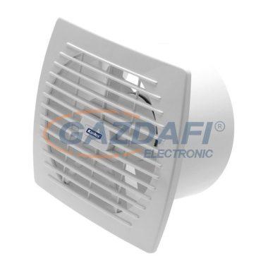 KANLUX ventilátor, 22W, fix rácsos, 150mm, fehér, műanyag