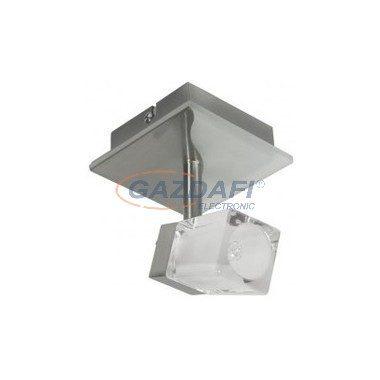 "KANLUX ""Gina"" fali/mennyezeti lámpa, G9, 1x40W, matt króm, IP20, 230V"