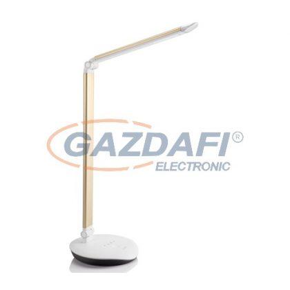 PHILIPS Lever 720079216 LED asztali lámpa , 5W SELV 100-240V 400Lm, arany