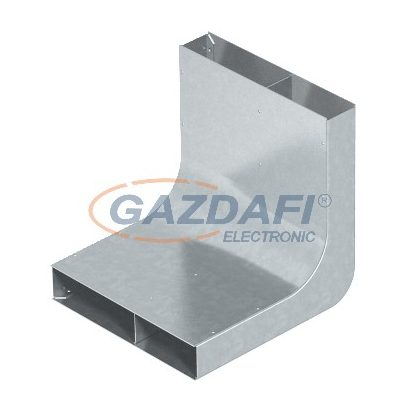 OBO 7400628 KV2 19048 Függőleges Ív 2-vonalú EÜK-hoz szalaghorganyzott acél