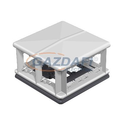 OBO 7408494 T8NL 00C 9011 Telitank 225x225x125mm grafitszürke poliamid