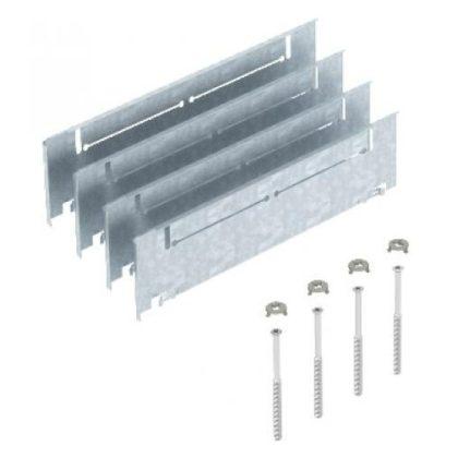 OBO 7410148 ASH250-3 B165220 Magasság-Beállító Készlet 165+55 mm esztrich-magassághoz szalaghorganyzott acél