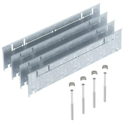 OBO 7410150 ASH350-3 B115170 Magasság-Beállító Készlet 115+55 mm esztrich-magassághoz szalaghorganyzott acél