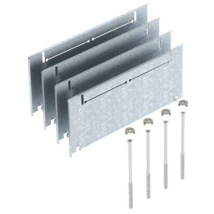 OBO 7410158 ASH250-3 215270 Oldalmagasító Készlet 215+55 mm oldalmagassághoz szalaghorganyzott acél
