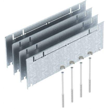 OBO 7410164 ASH350-3 215270 Oldalmagasító Készlet 215+55 mm oldalmagassághoz szalaghorganyzott acél